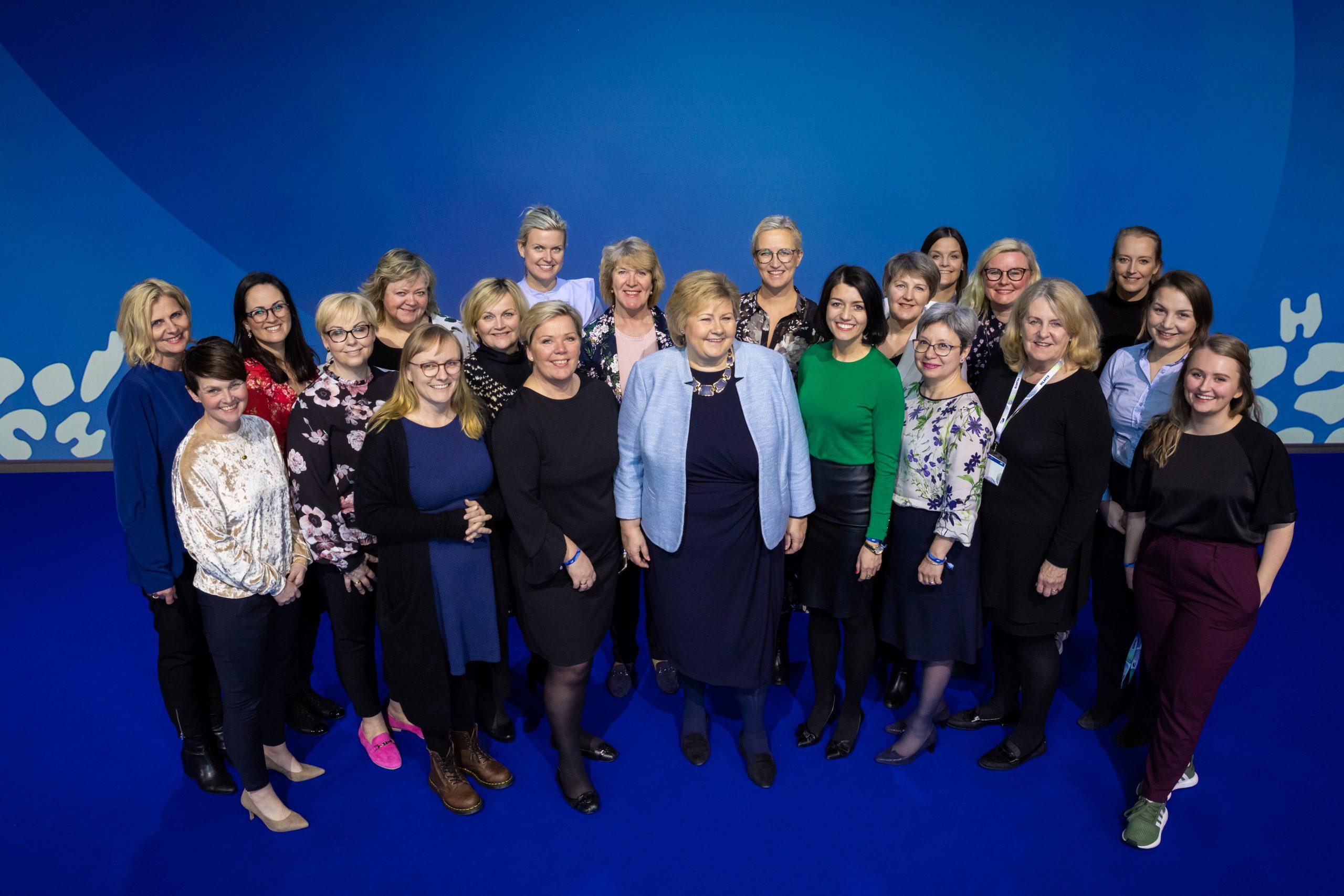 Høyres kvinneforum under Høyres landsmøte 2019