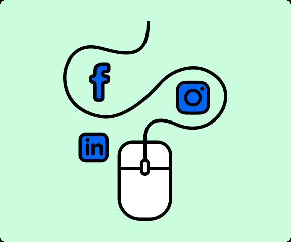 Erna Solberg er aktiv i sosiale medier